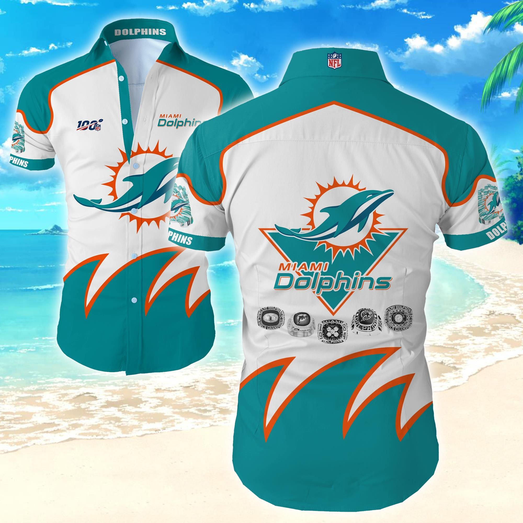NFL Miami Dolphins Hawaiian Shirt Special Edition For Fans