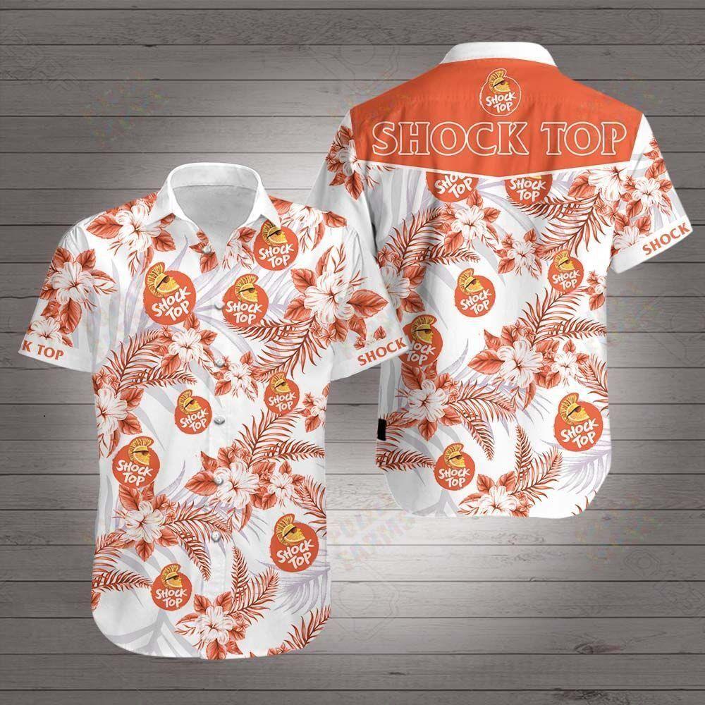 Shock Top U Hawaii Shirt Summer Button Up