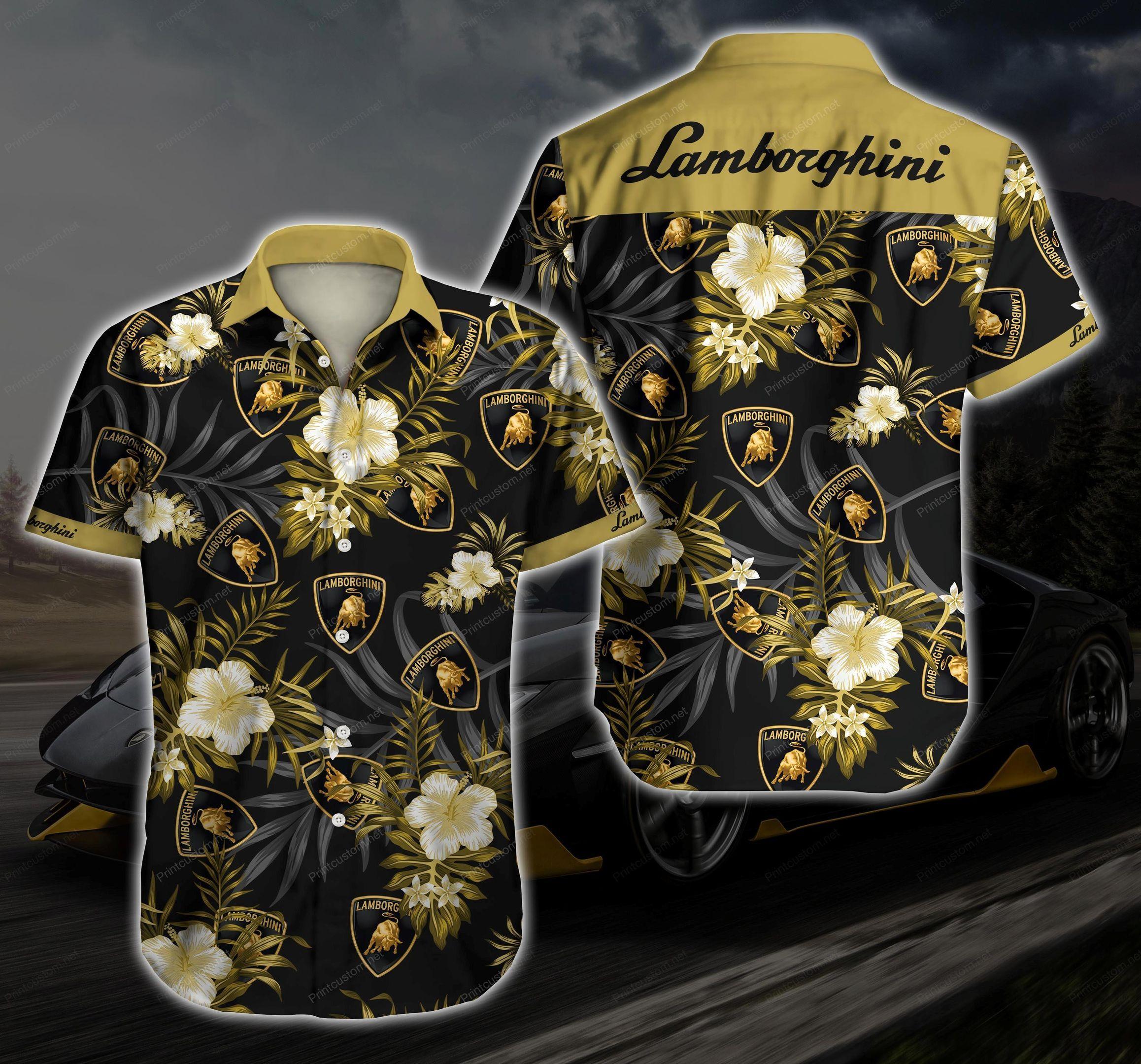 Lamborghini Ver 2 Hawaii Shirt
