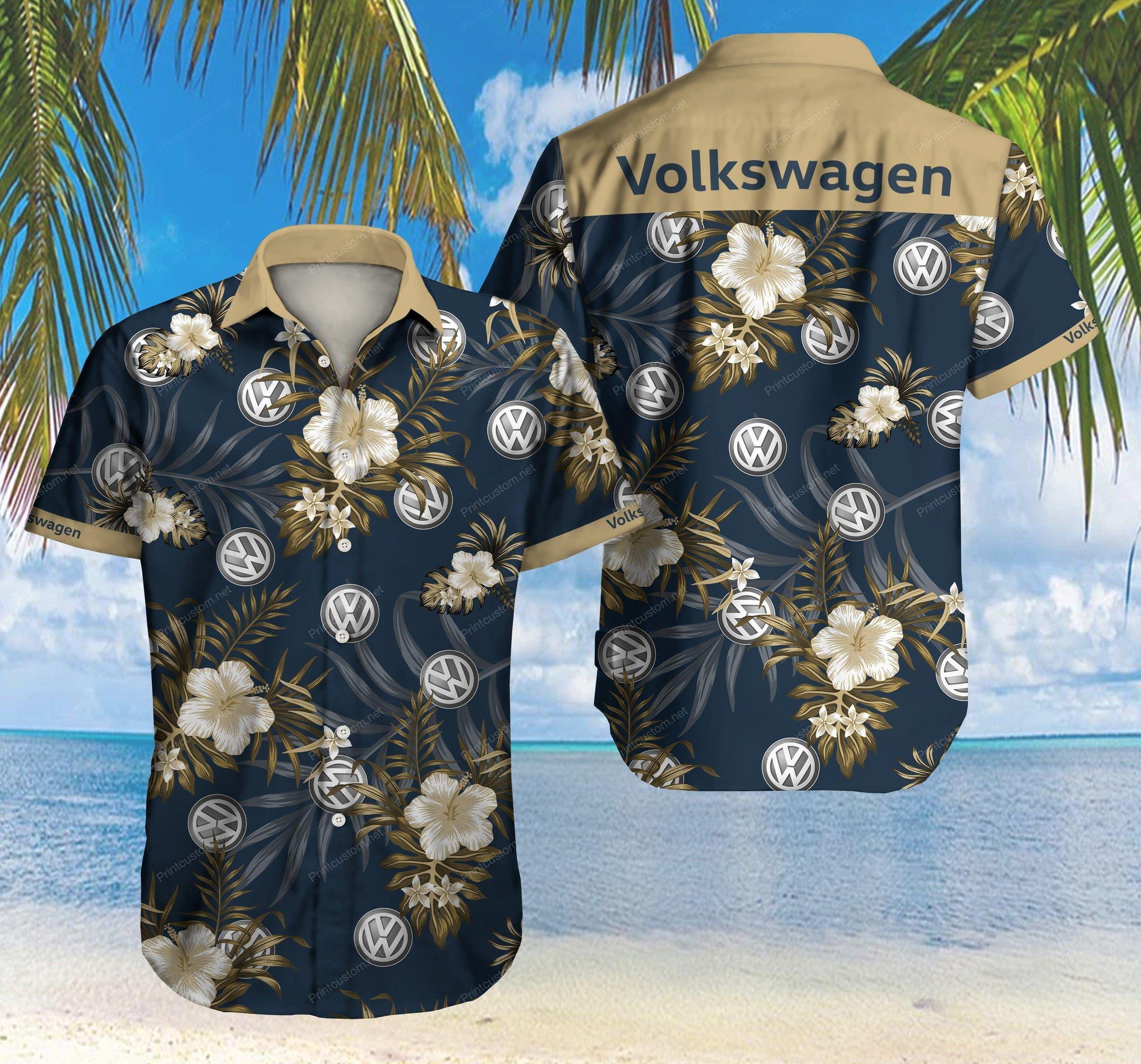 Volkswagen logo Hawaiian Shirt Summer Shirt