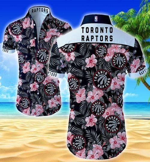 Toronto Raptors Hawaii Fit Body Shirt