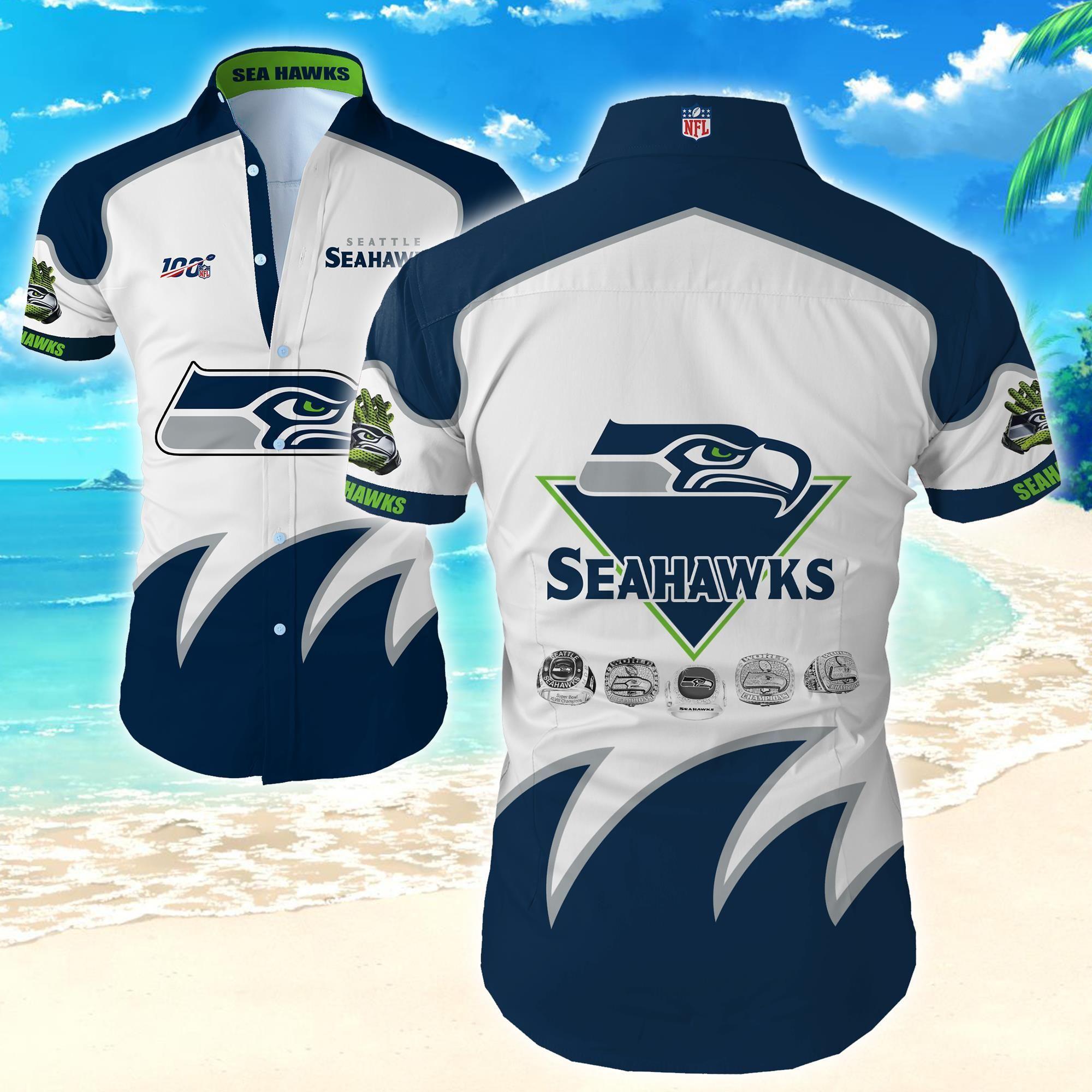 Nfl Seattle Seahawks Best Hawaiian Shirt Beach Wear for Fan