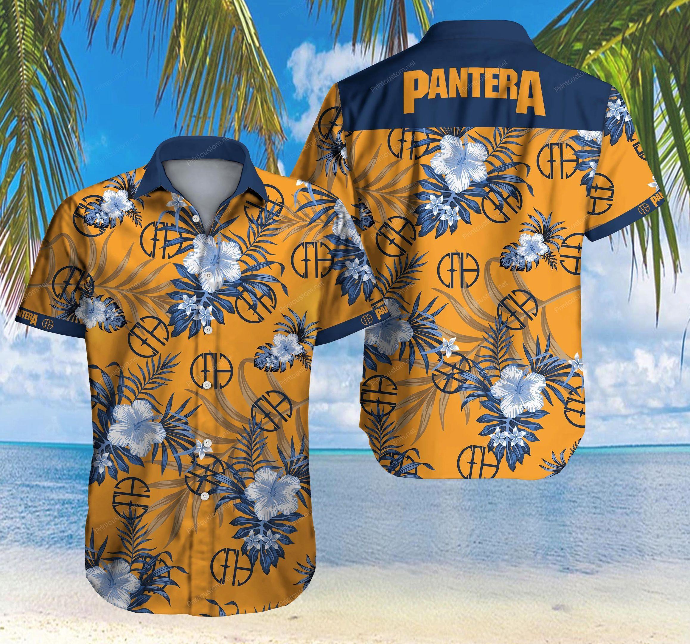 Pantera Hawaiian Shirt Summer Shirt