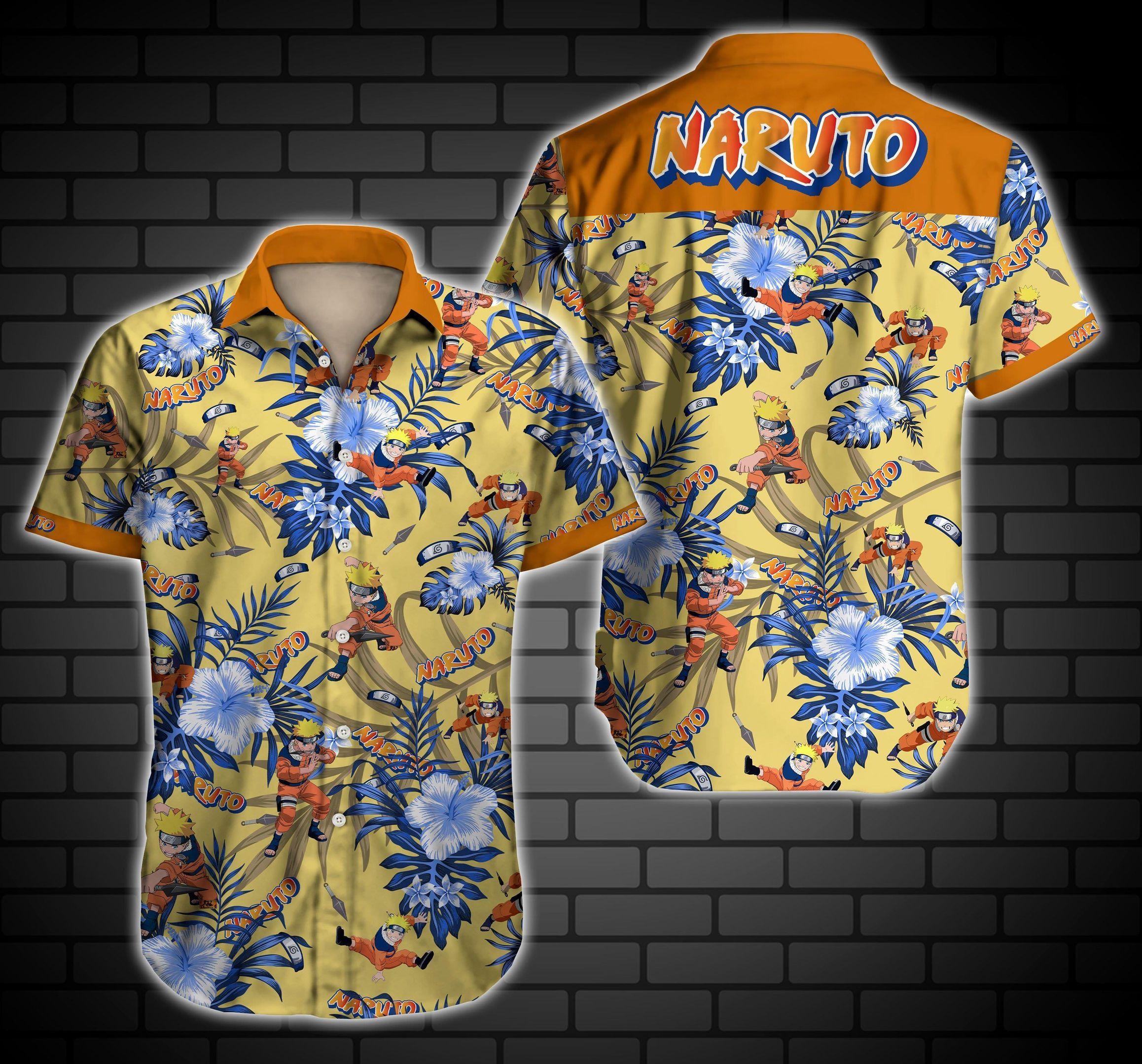 Naruto Hawaiian Shirt Summer Shirt