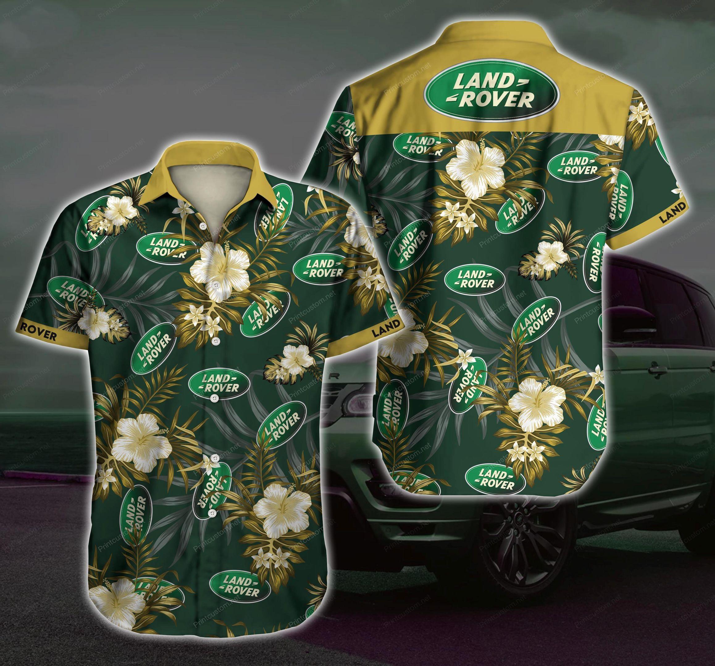 Land Rover Automobile Hawaii Shirt