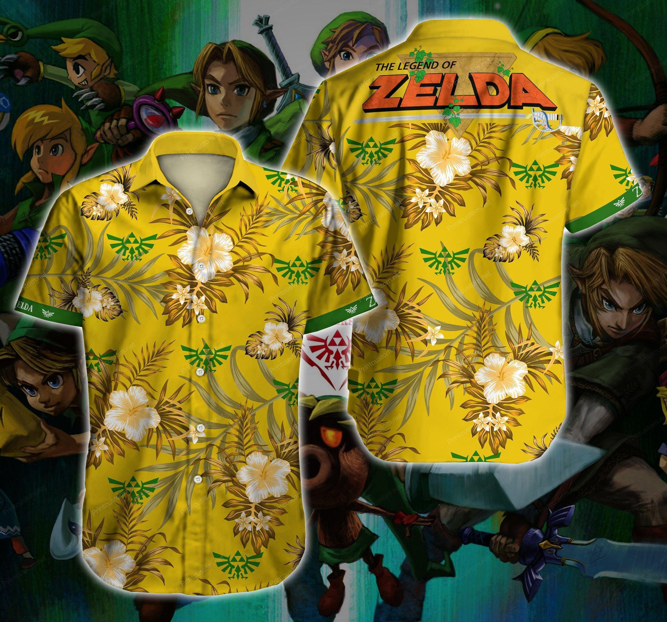 The Legend Of Zelda Hawaii Shirt Summer