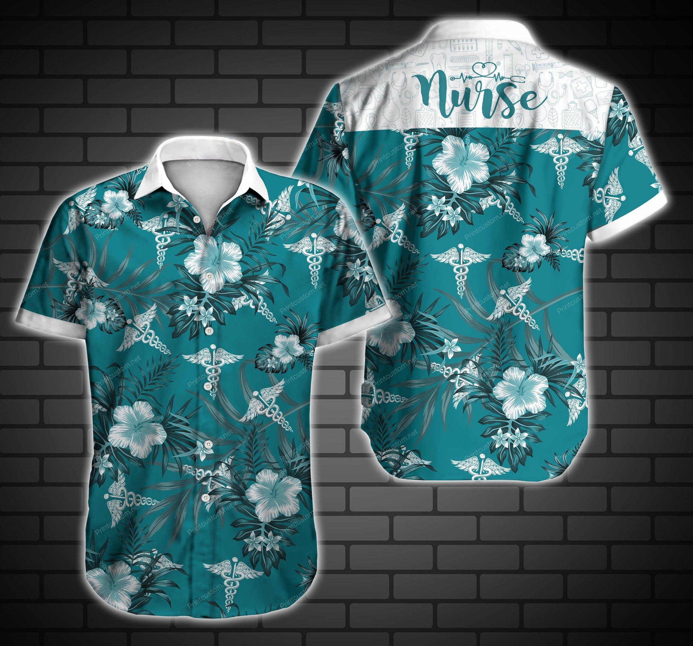 Nurse Hawaiian Shirt Summer Shirt