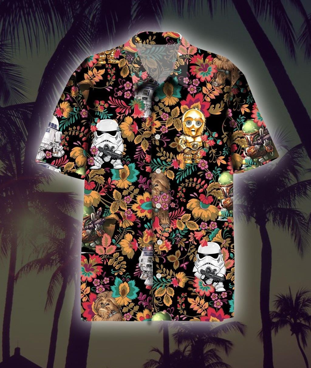Star Wars Hawaiian Shirt Summer Shirt