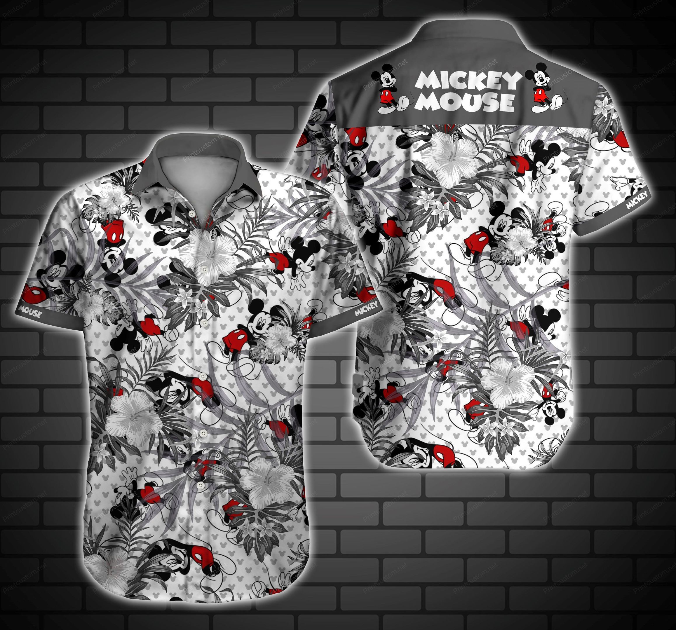 Mickey Mouse Disney Hawaiian Shirt Summer Shirt