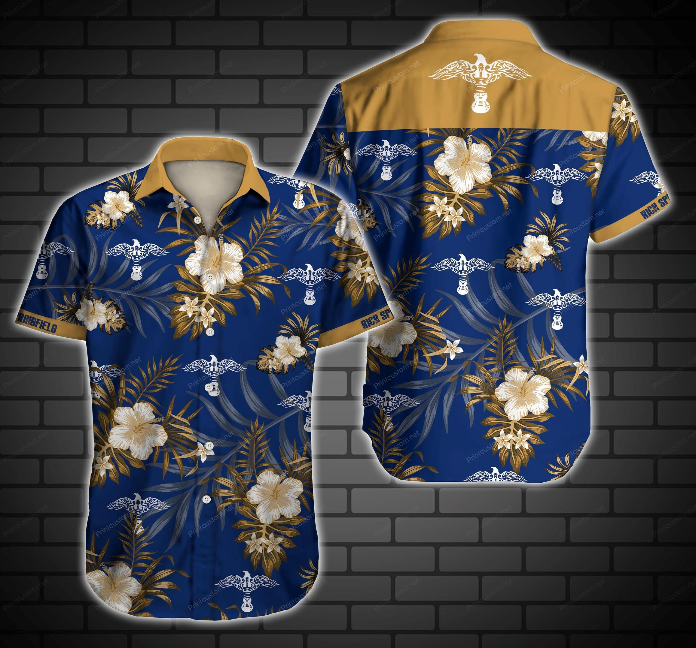 Rick Springfield musician Hawaiian Shirt