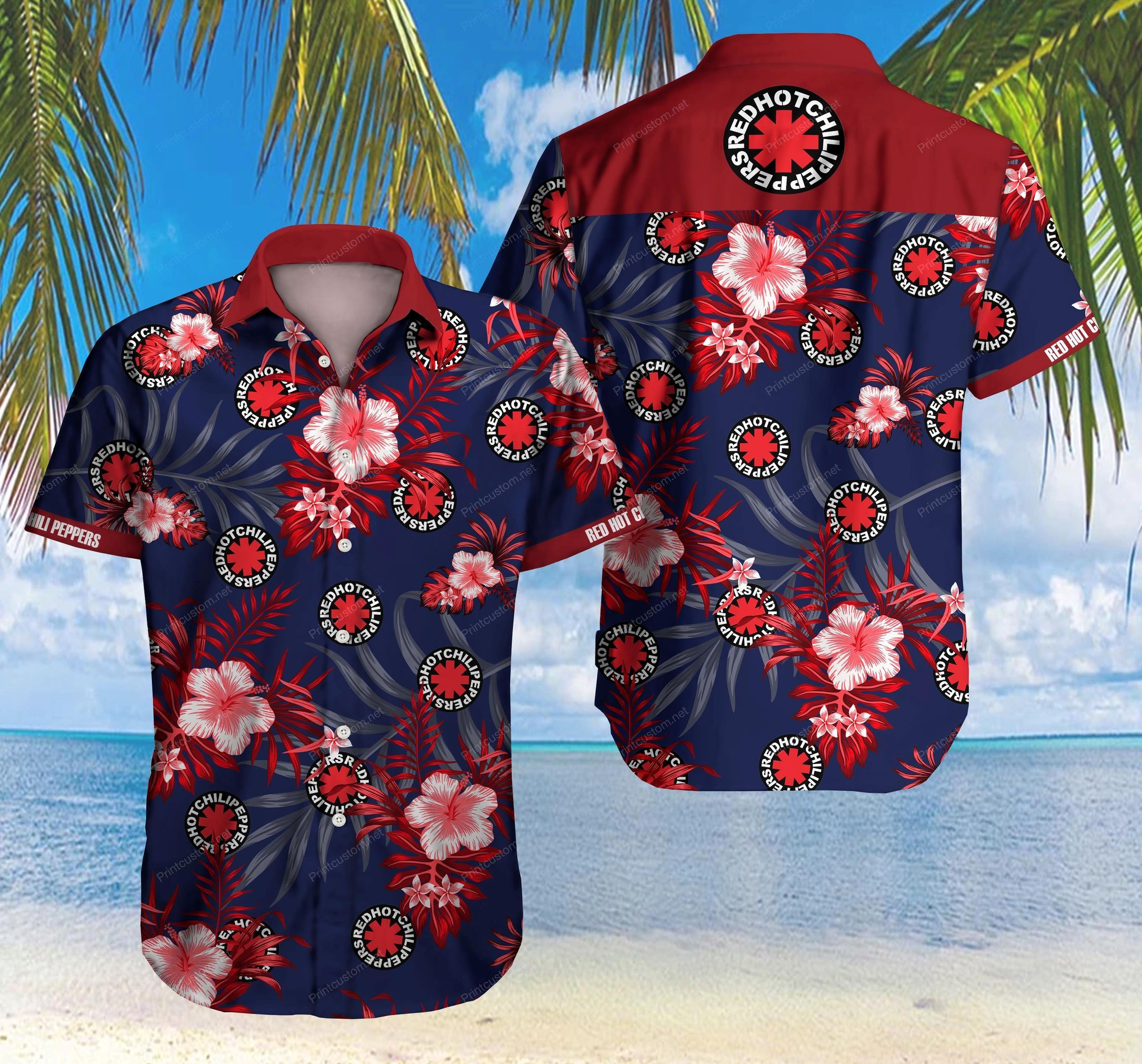 Red Hot Chili Peppers Hawaii Shirt