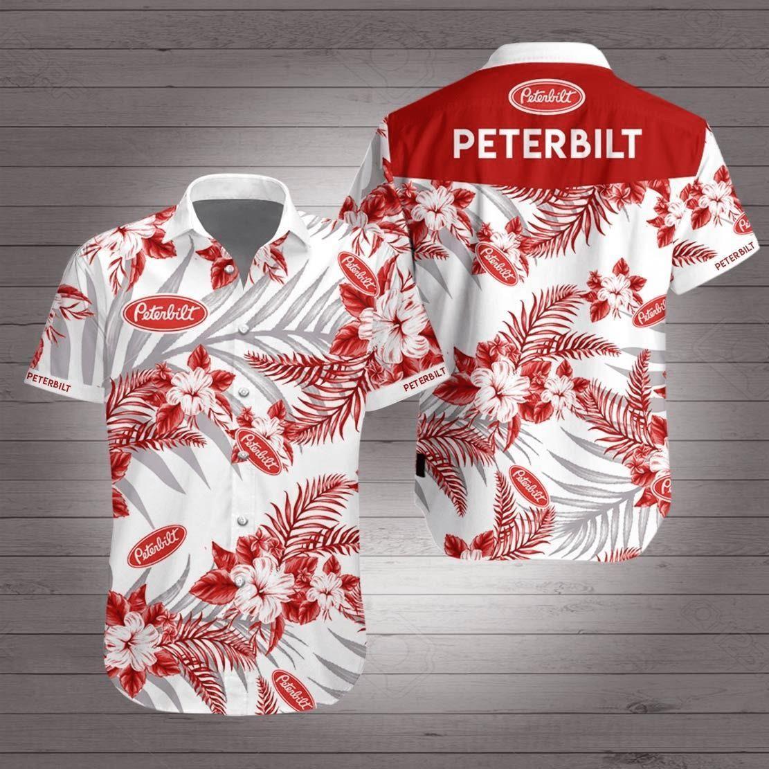 Peterbilt Hawaiian Shirt Summer Shirt