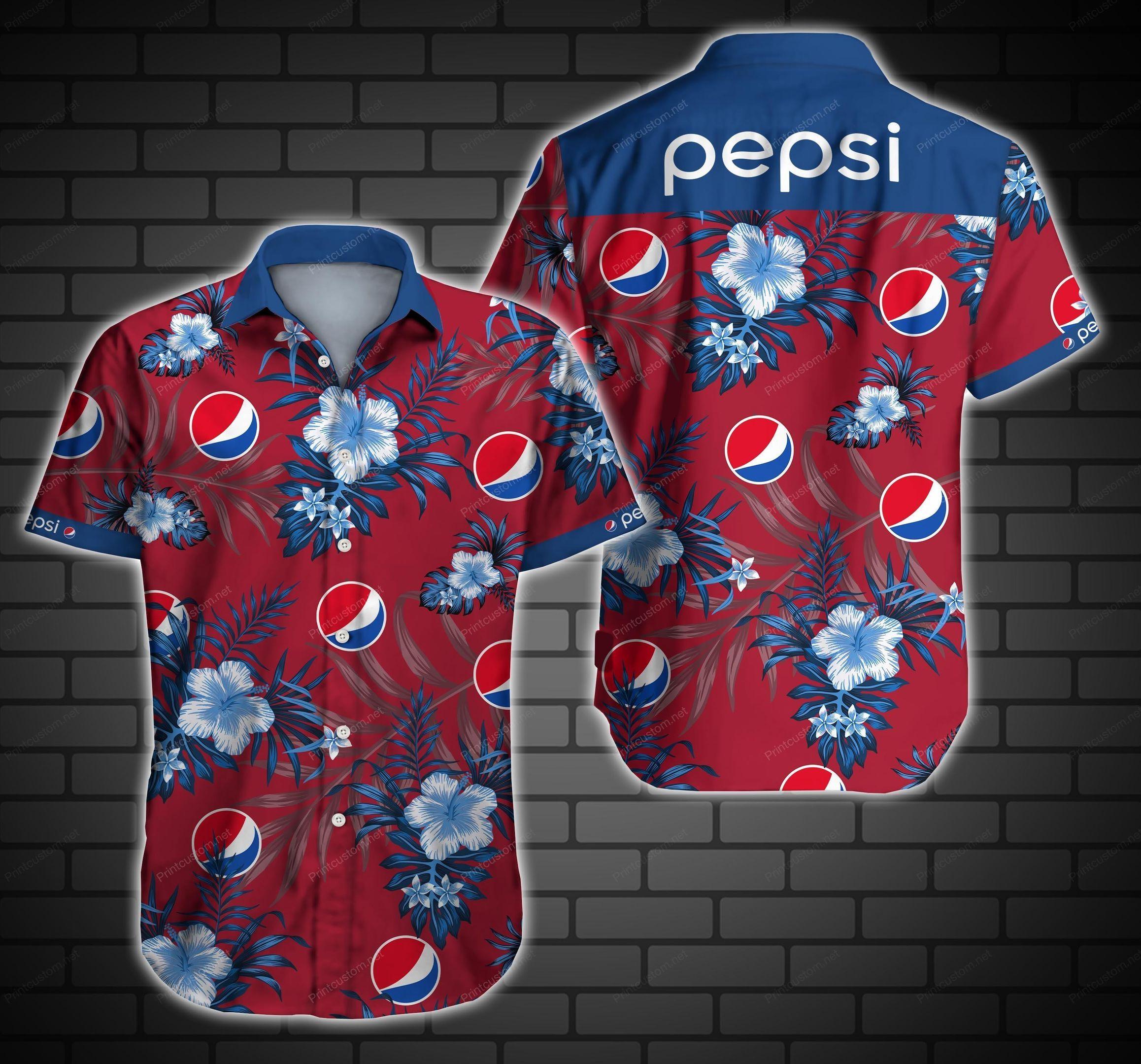 Pepsi Logo Hawaii Shirt Ver6 Summer Button Up Shirt