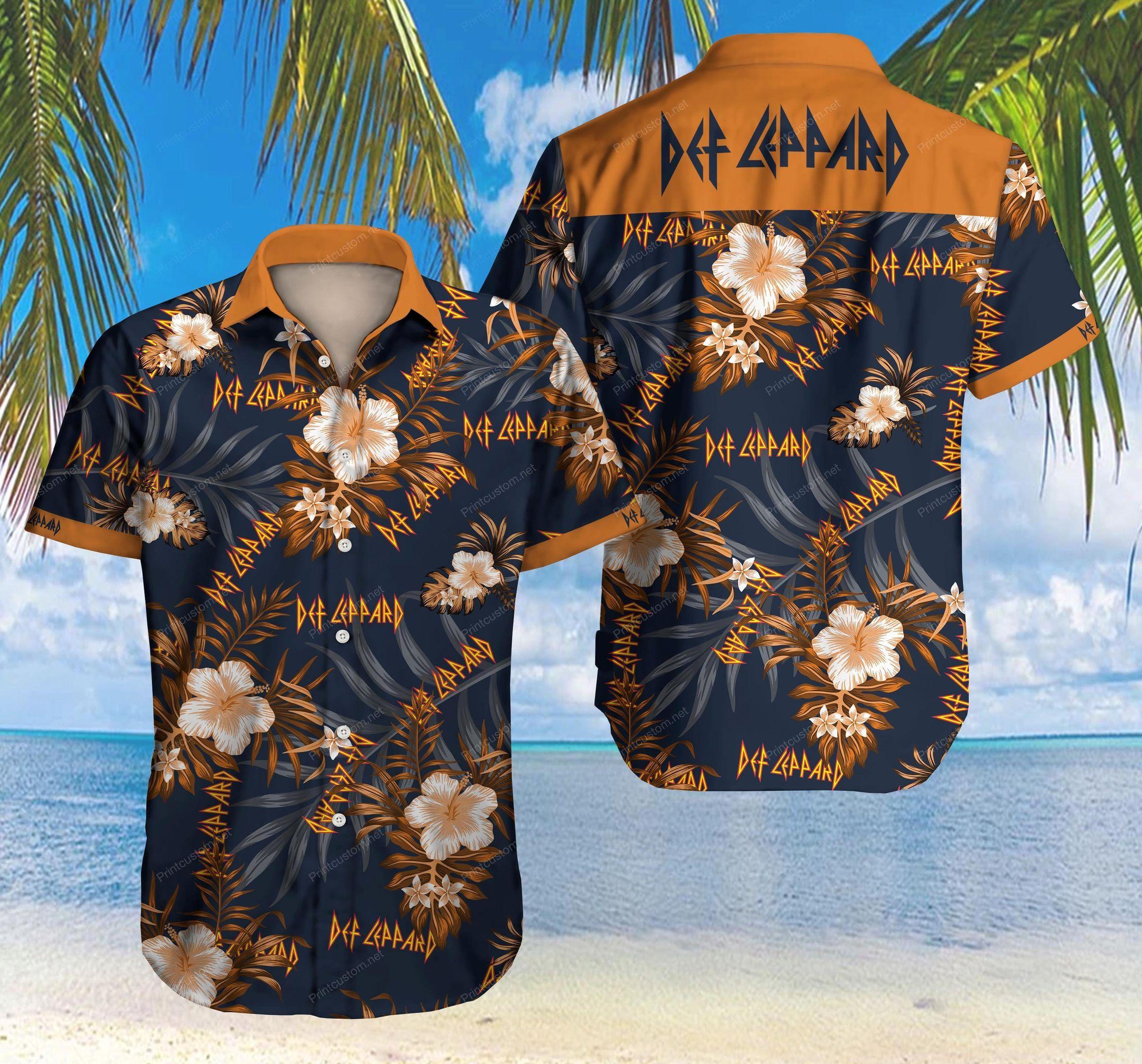 Def Leppard Hawaii Shirt Summer
