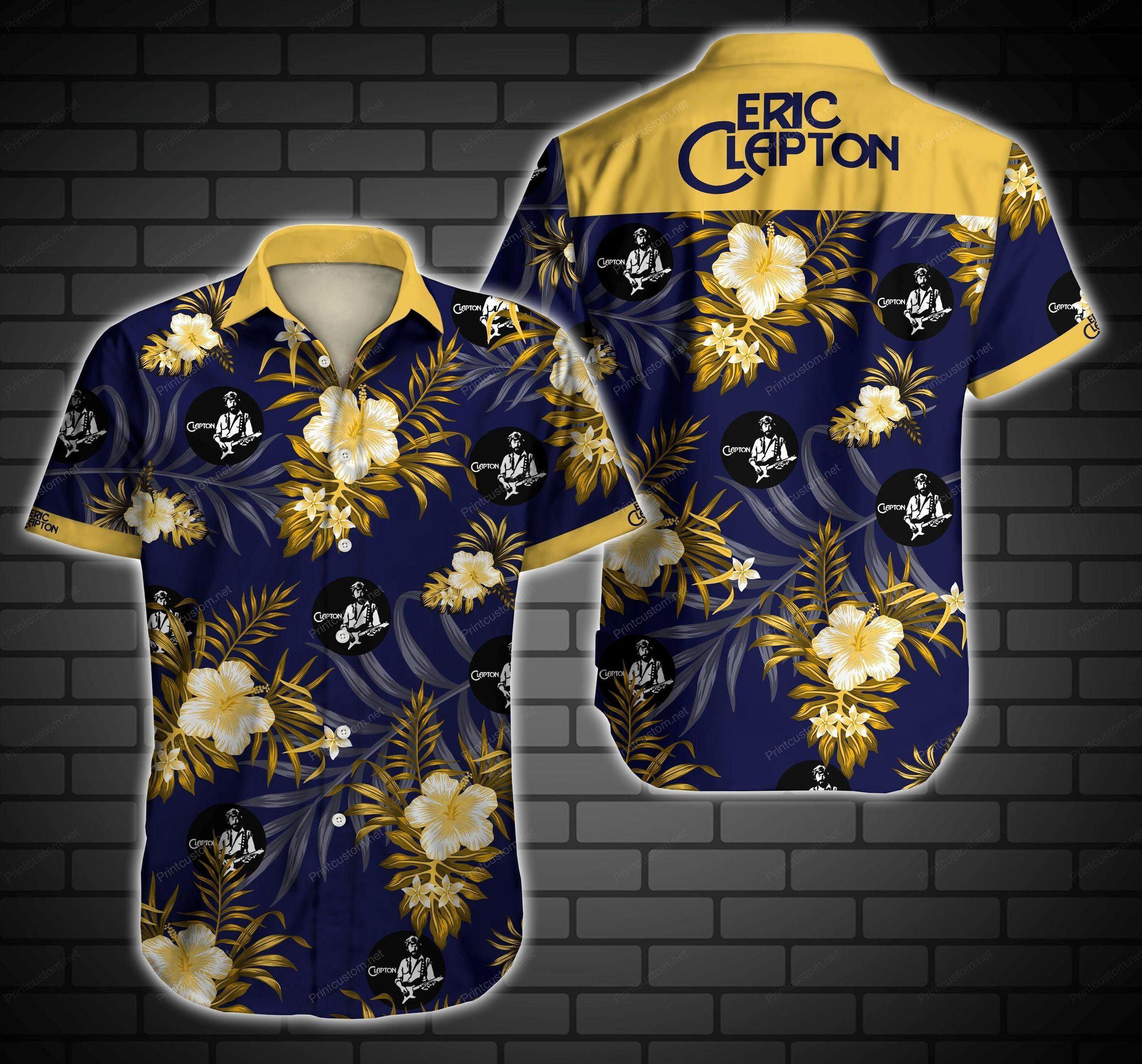 Eric Clapton Hawaii Shirt Summer