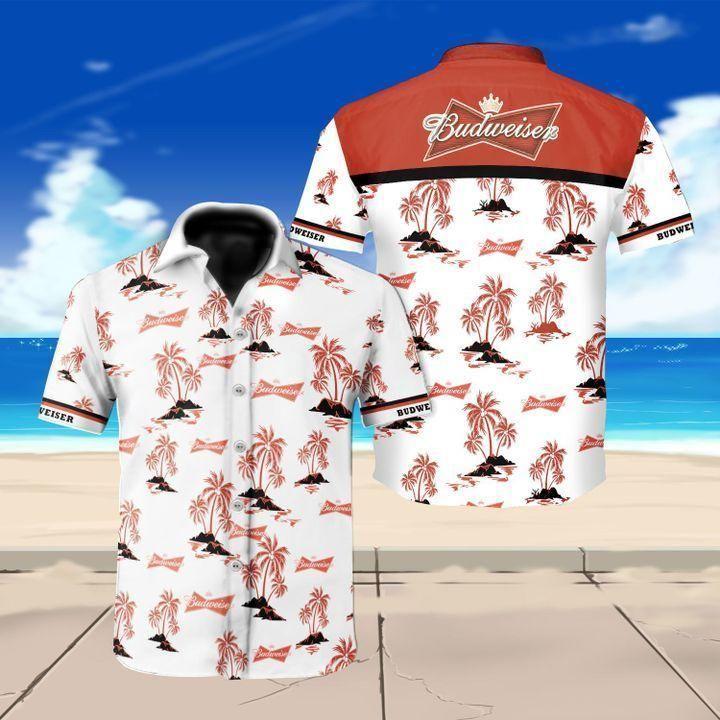 Budweiser beer Hawaiian Shirt Beach Shirt