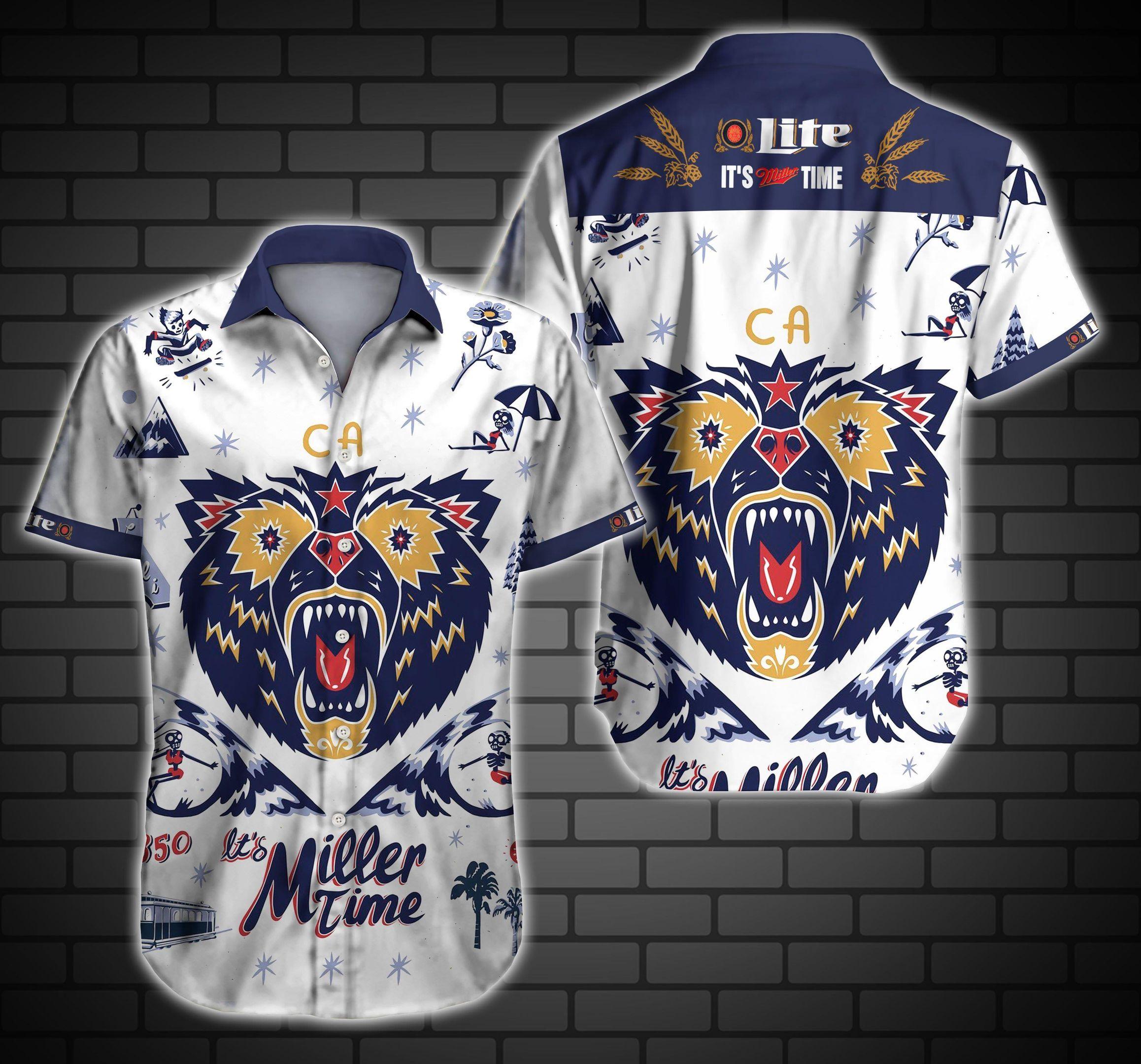 Lite Miller Time Hawaii Shirt