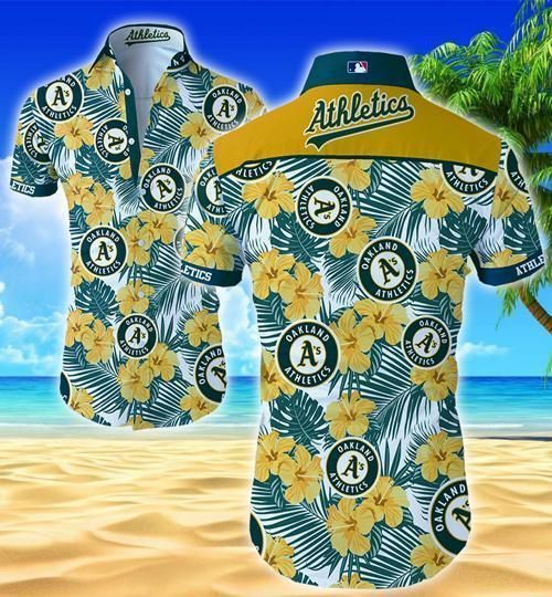 Oakland Athletics Hawaii Fit Body Shirt