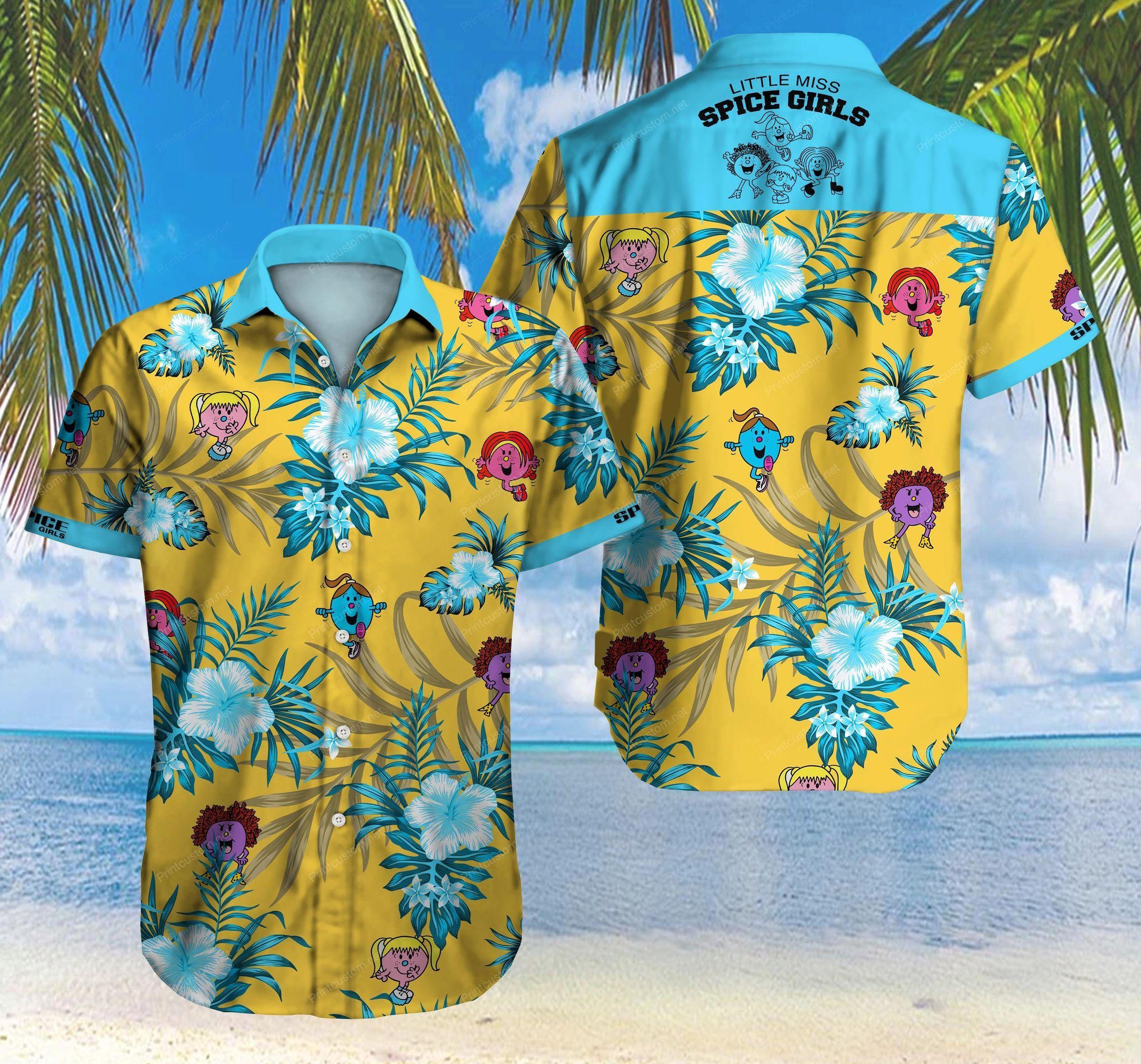 Little Miss Spice Girls Hawaiian Shirt Summer Shirt