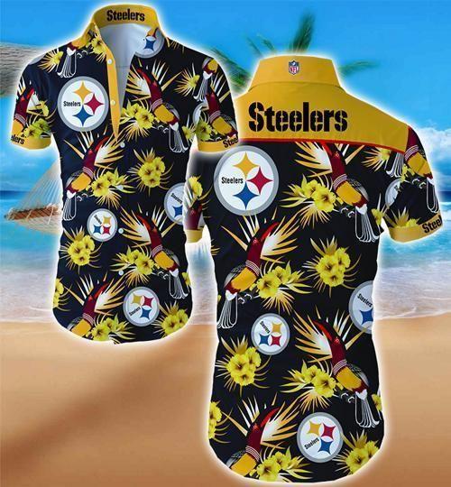 Pittsburgh Steelers Hawaii Fit Body Shirt
