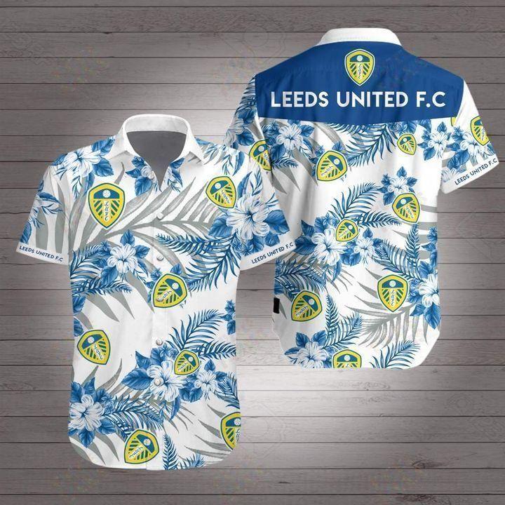 Leeds United Premier League football Hawaiian Shirt Summer Shirt