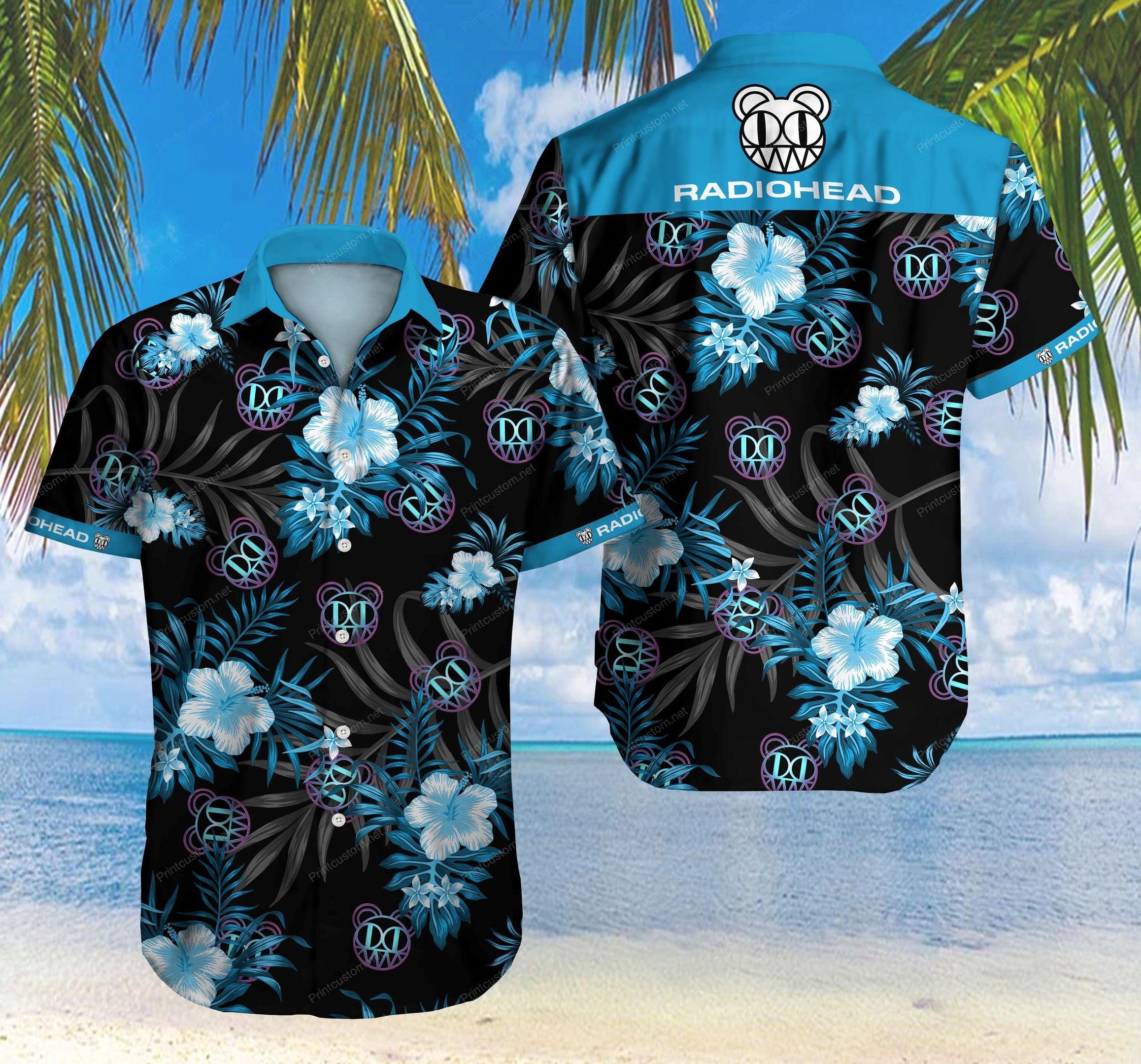Radiohead Logo Hawaiian Shirt Summer Shirt