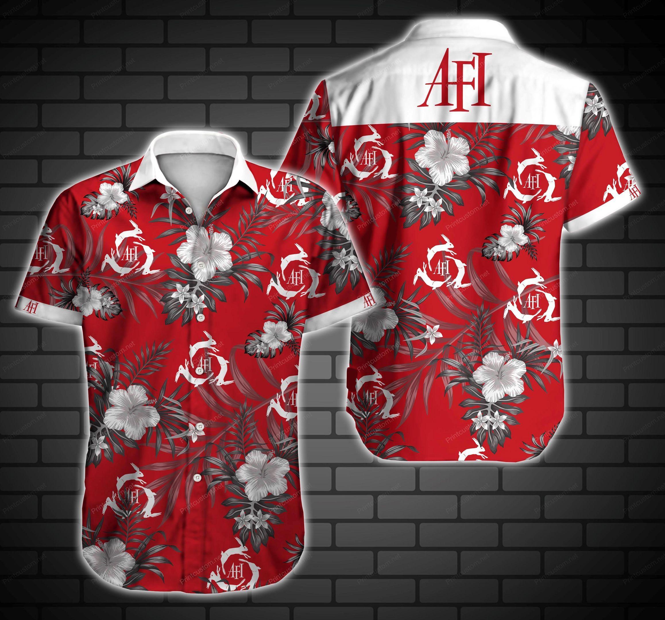 AFI rabbit Rock band Hawaiian Shirt Summer Shirt