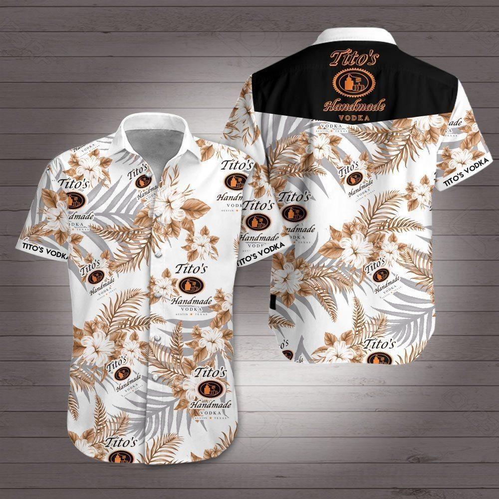 Titos Vodka Hawaiian Shirt Summer Shirt