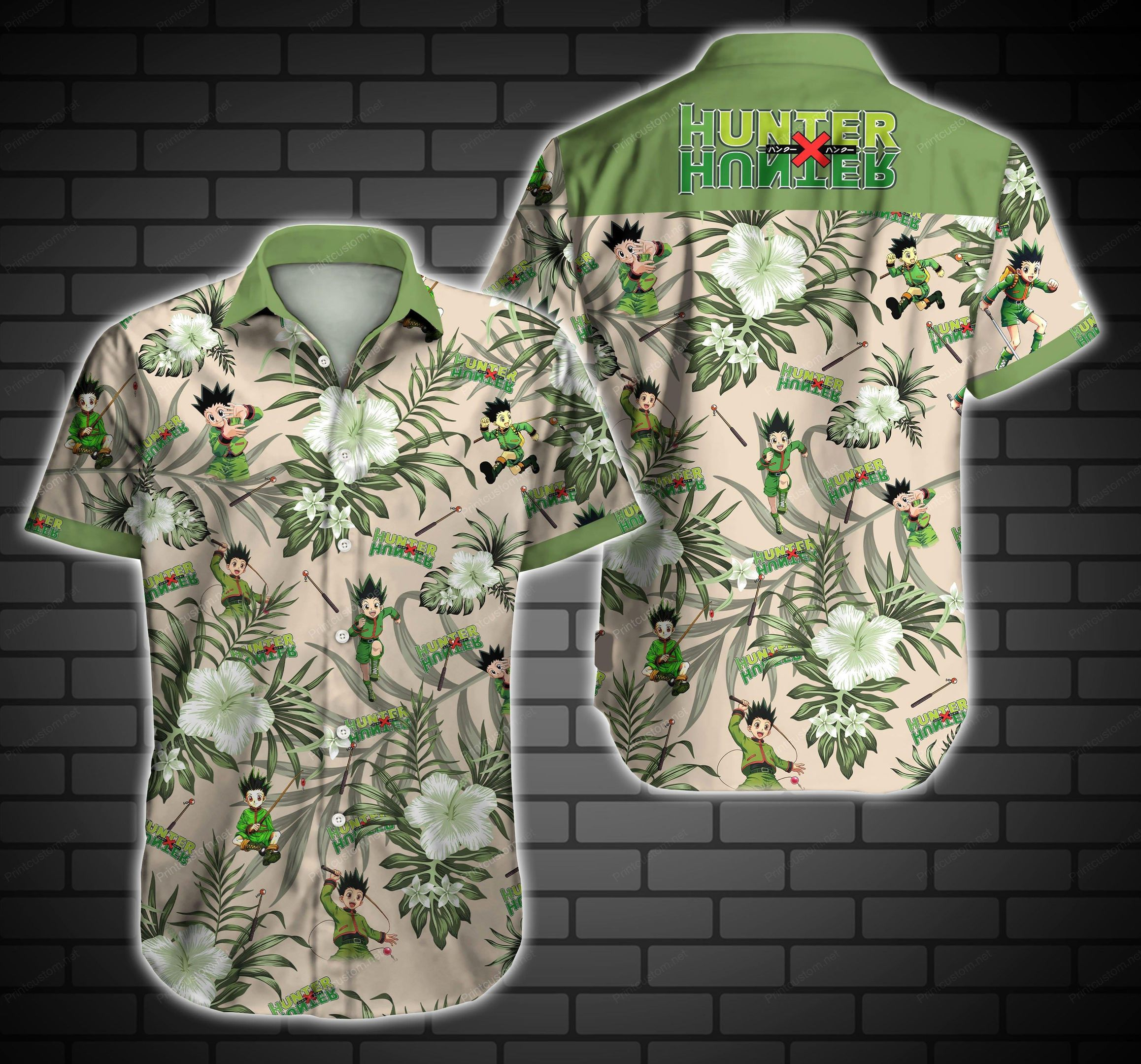 Hunter x Hunter Hawaiian Shirt Summer Beach Shirt