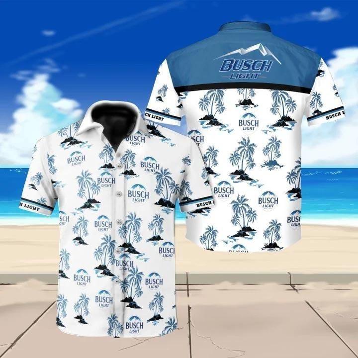 Busch light beer floral Hawaiian Shirt Summer Shirt