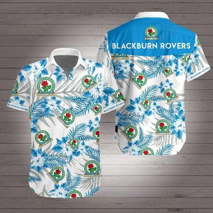 Blackburn rovers Premier League football Hawaiian Shirt Beach Wear