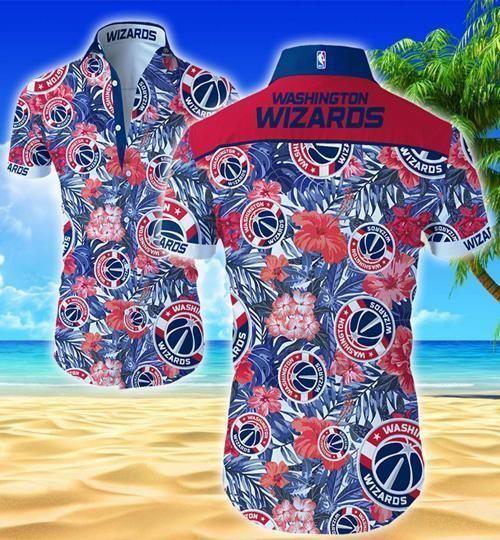 Washington Wizards Hawaii Fit Body Shirt