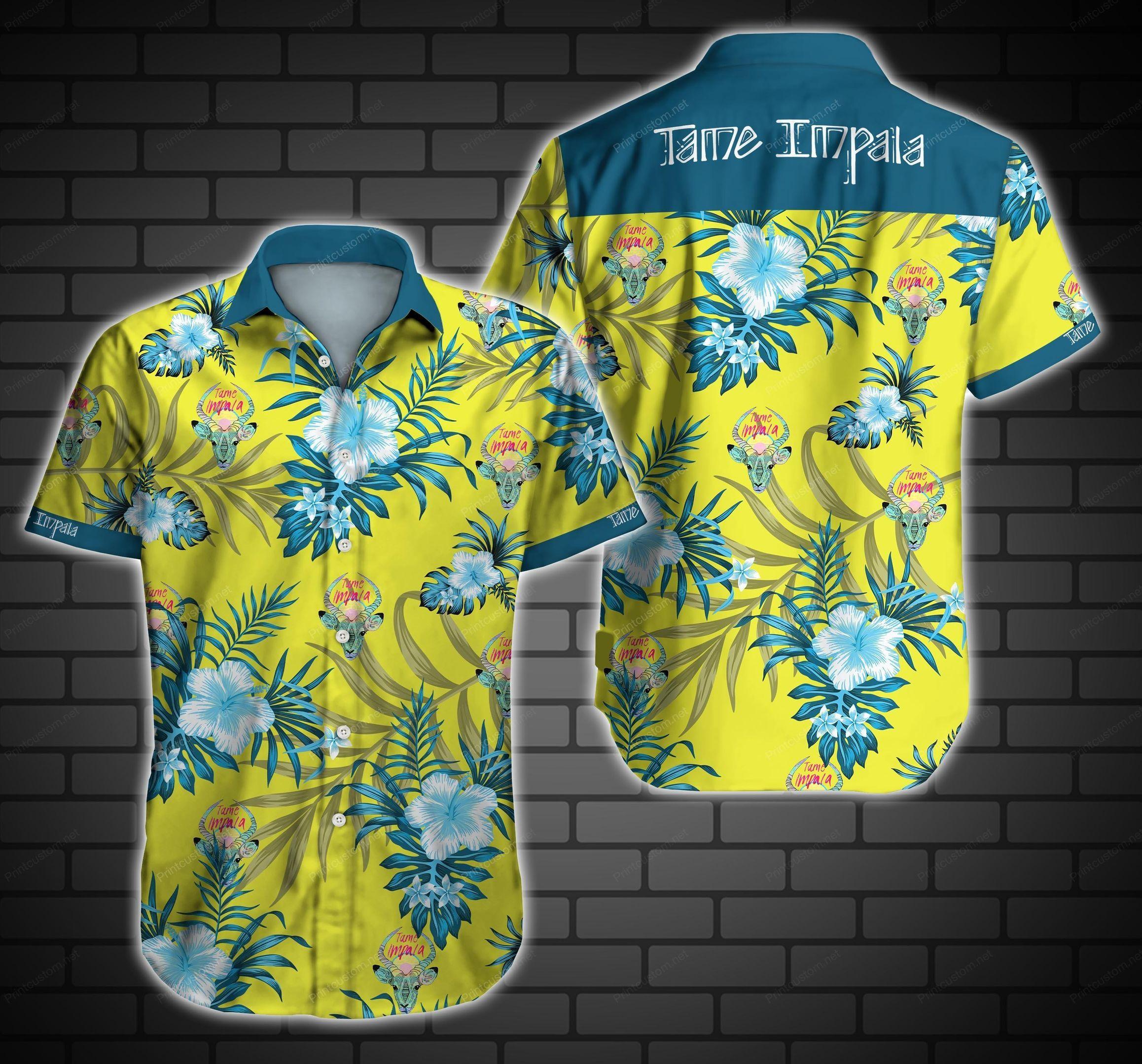 Tame Impala Deer Hawaiian Shirt Summer Shirt