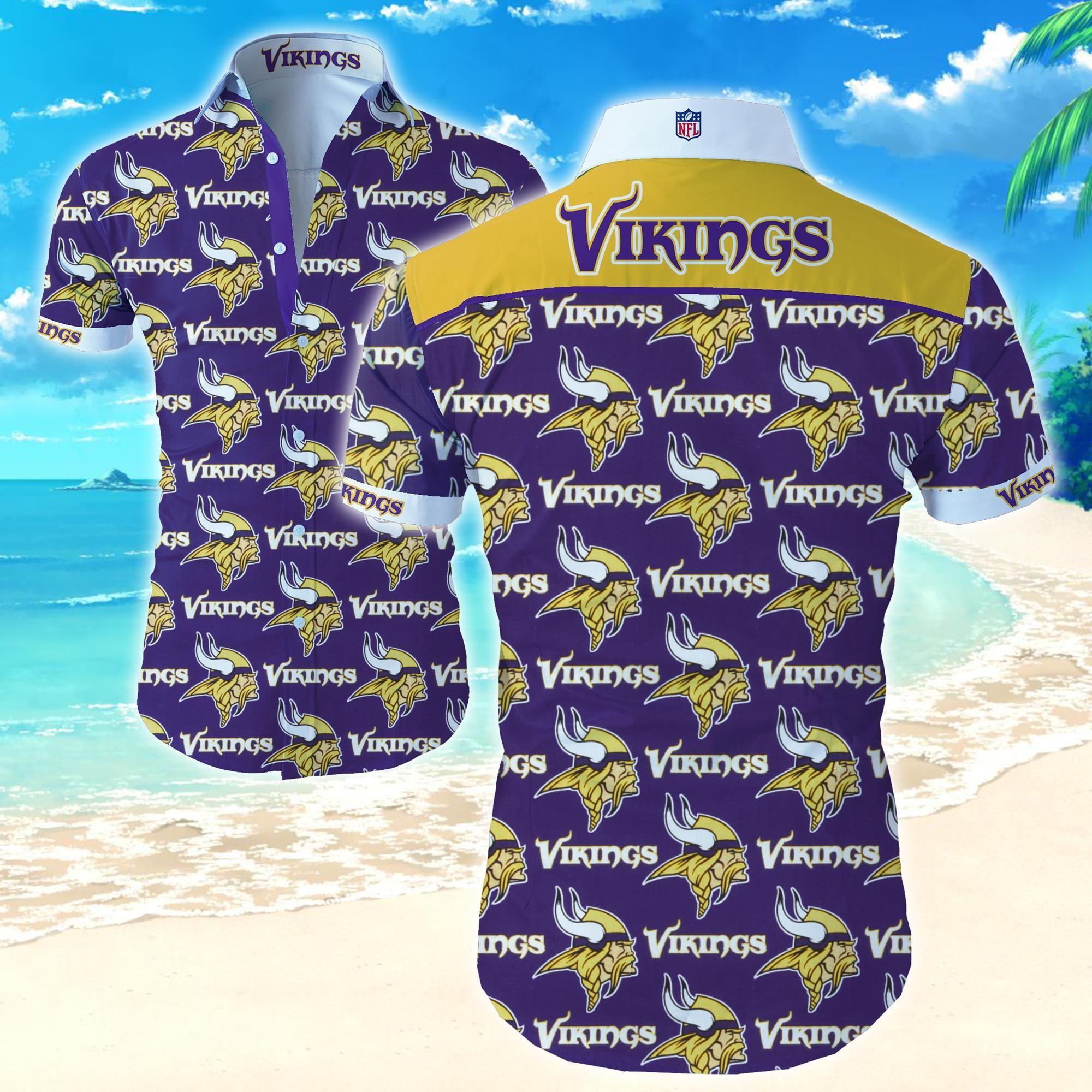 Nfl Minnesota Vikings Special Hawaiian Shirt for fan