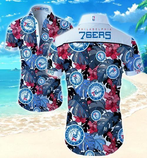 Philadelphia 76ers Hawaii Fit Body Shirt