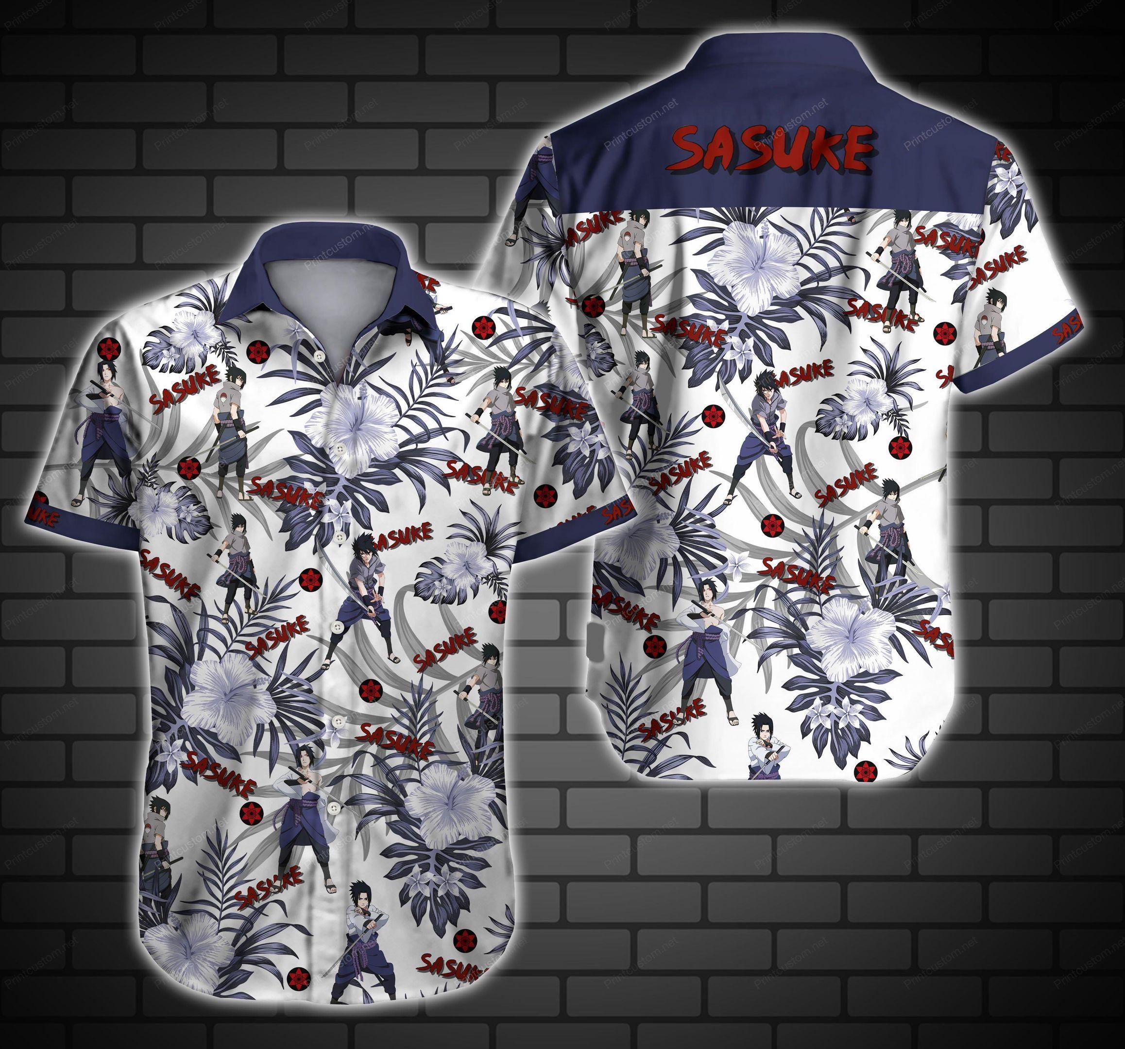 Sasuke Hawaiian Shirt Summer Shirt