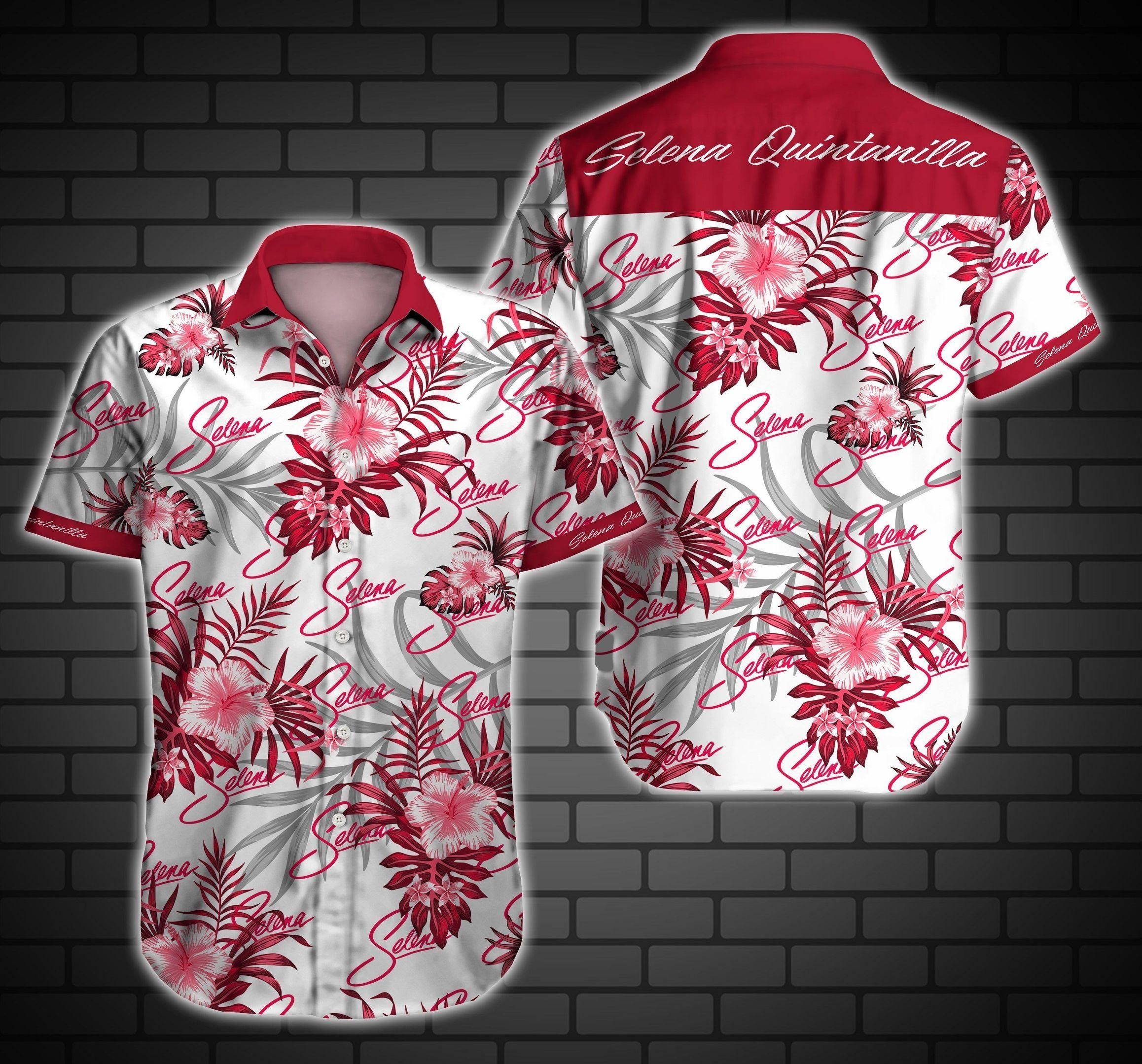 Selena Quintanilla Hawaiian Shirt Summer Shirt