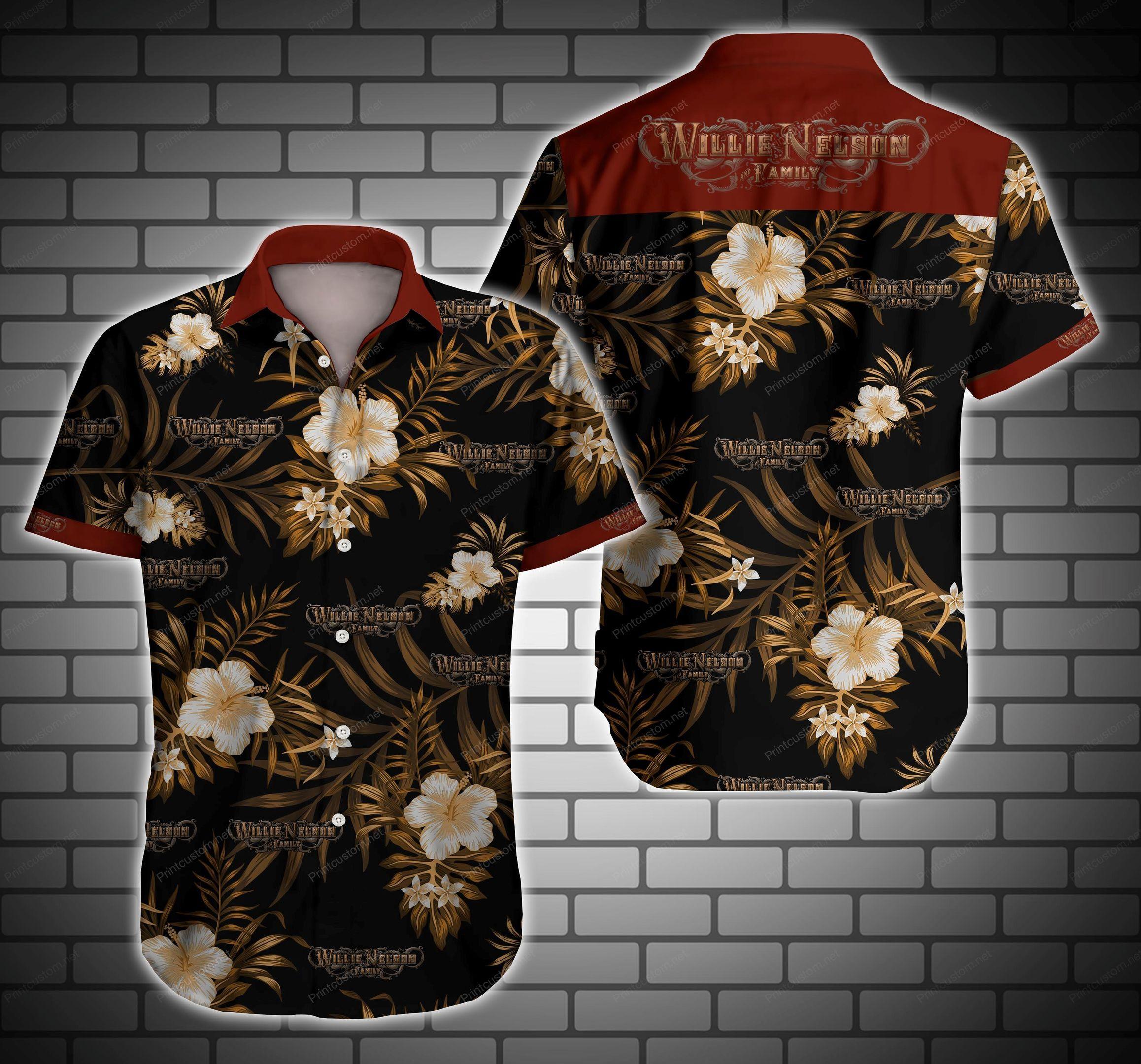 Willie Nelson Hawaiian Shirt Summer Shirt