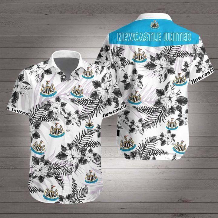 Newcastle United Premier League football Hawaiian Shirt Summer Shirt