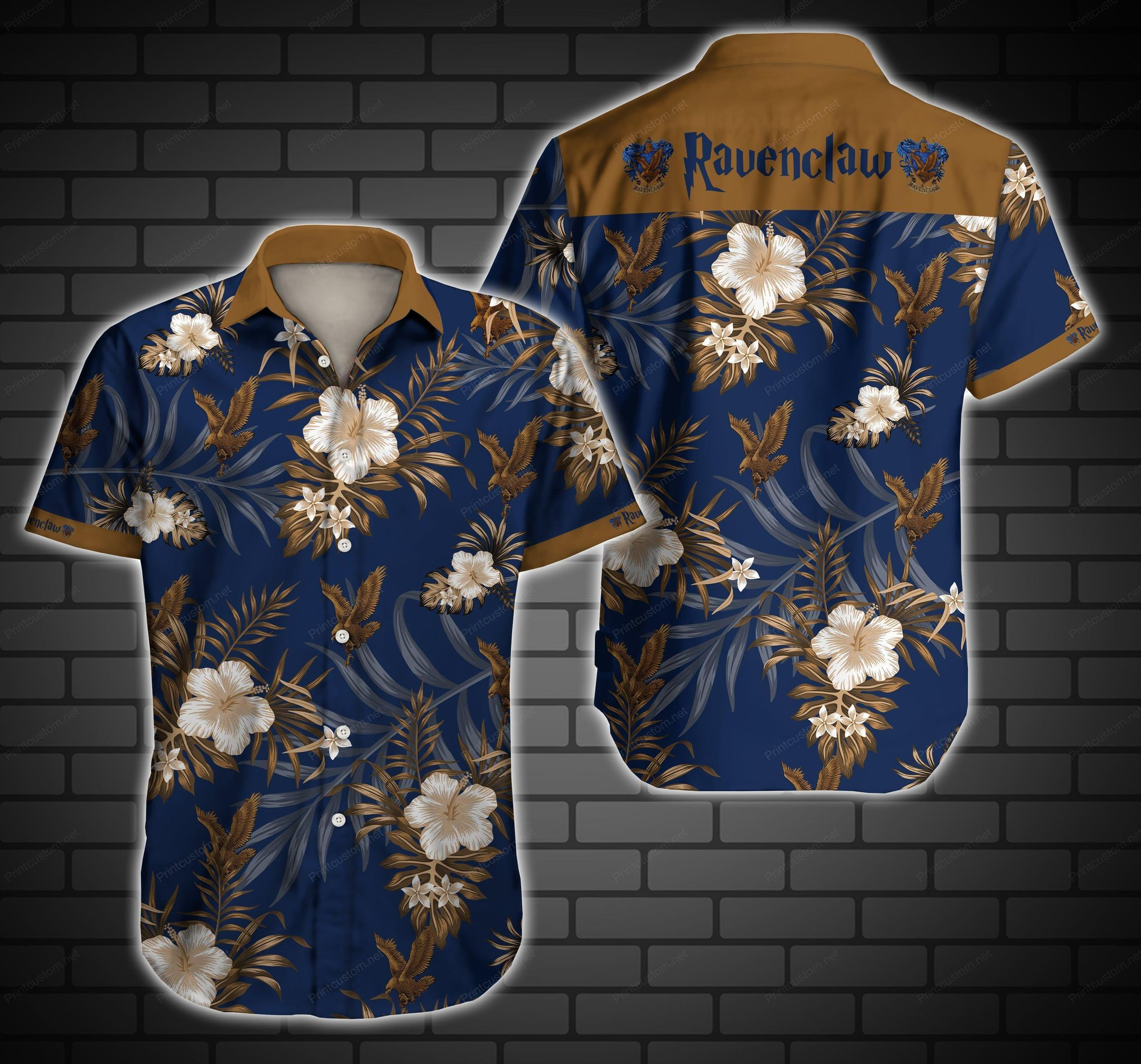 Ravenclaw Logo Harry Potter Hawaiian Shirt Summer Shirt