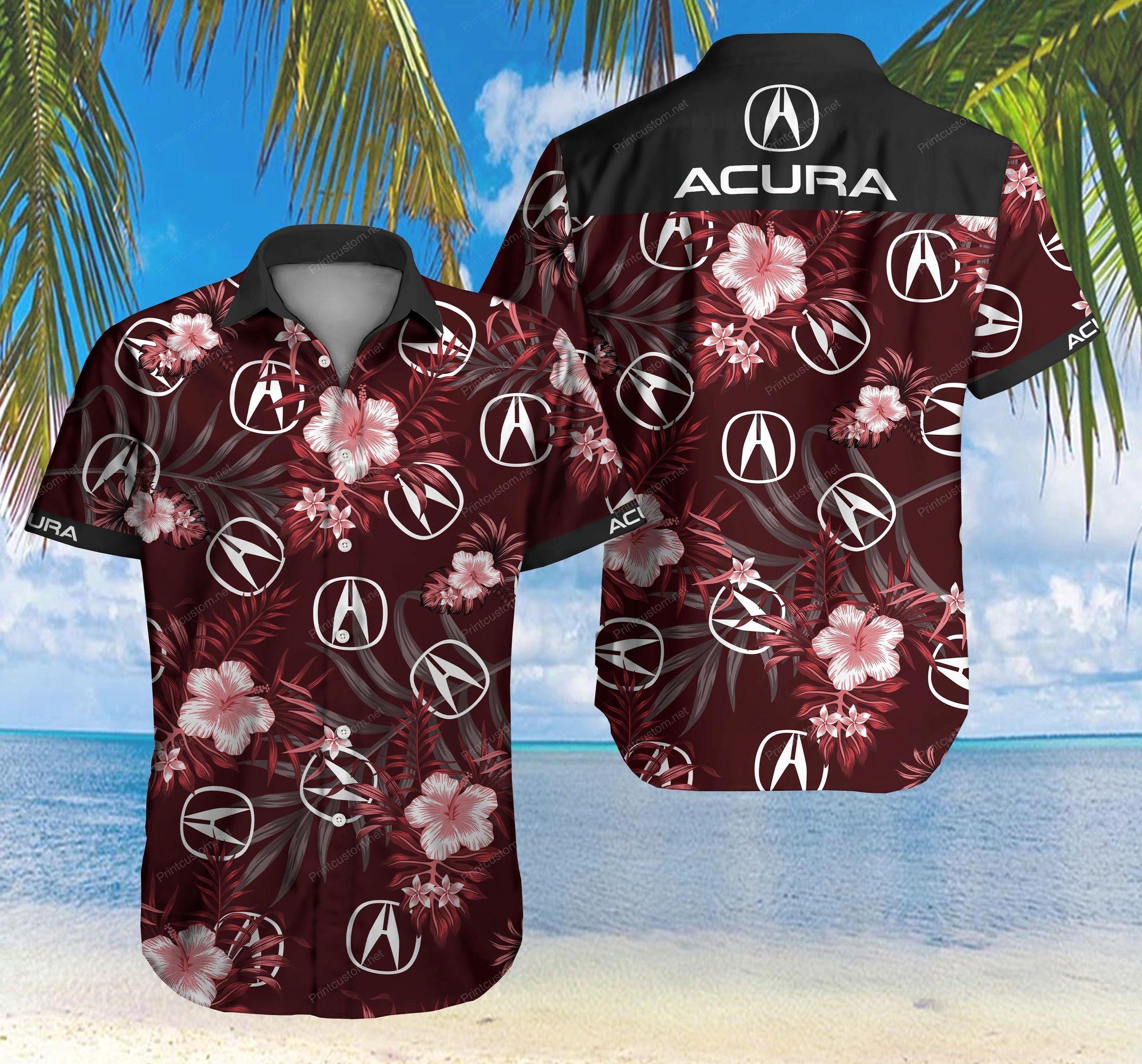 Acura Hawaii Shirt Summer Shirt