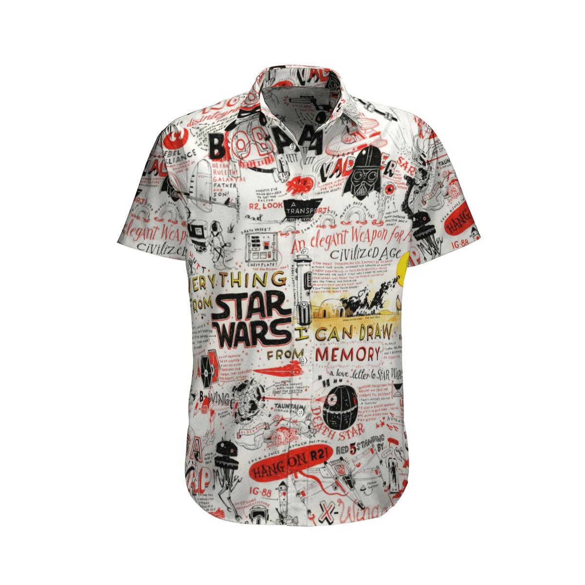 Star wars Drawings Everything from SW Hawaiian Shirt