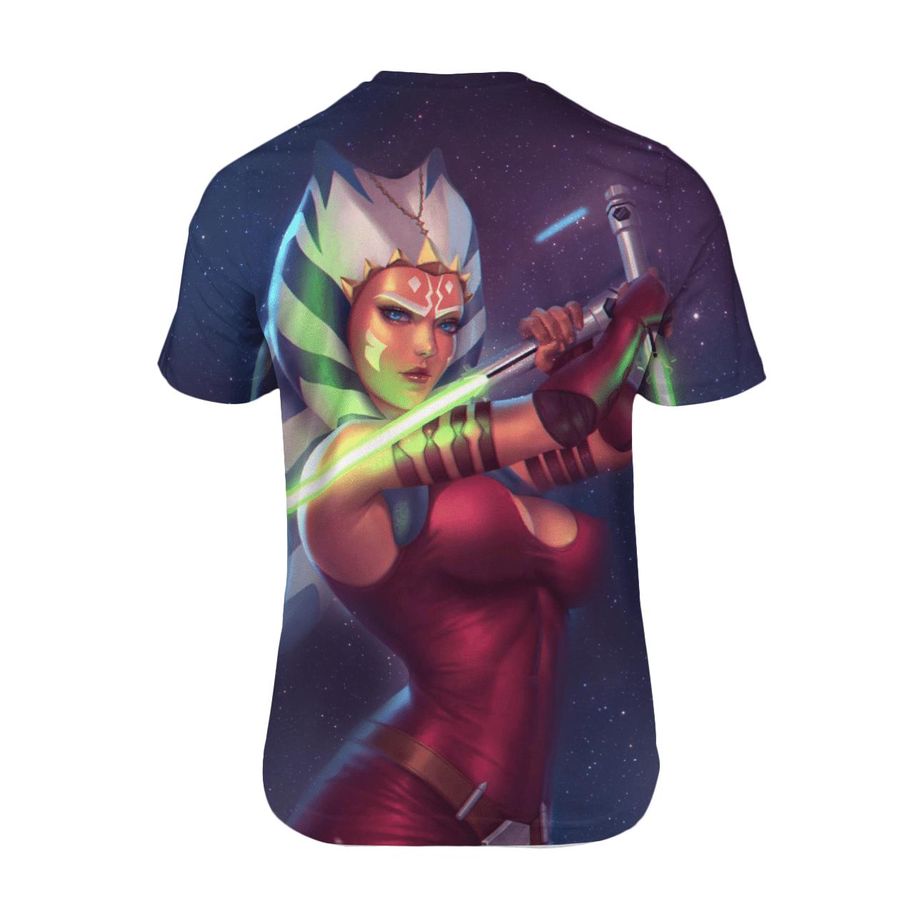 Star War Ahsoka Sexy Beauty 3D T Shirt