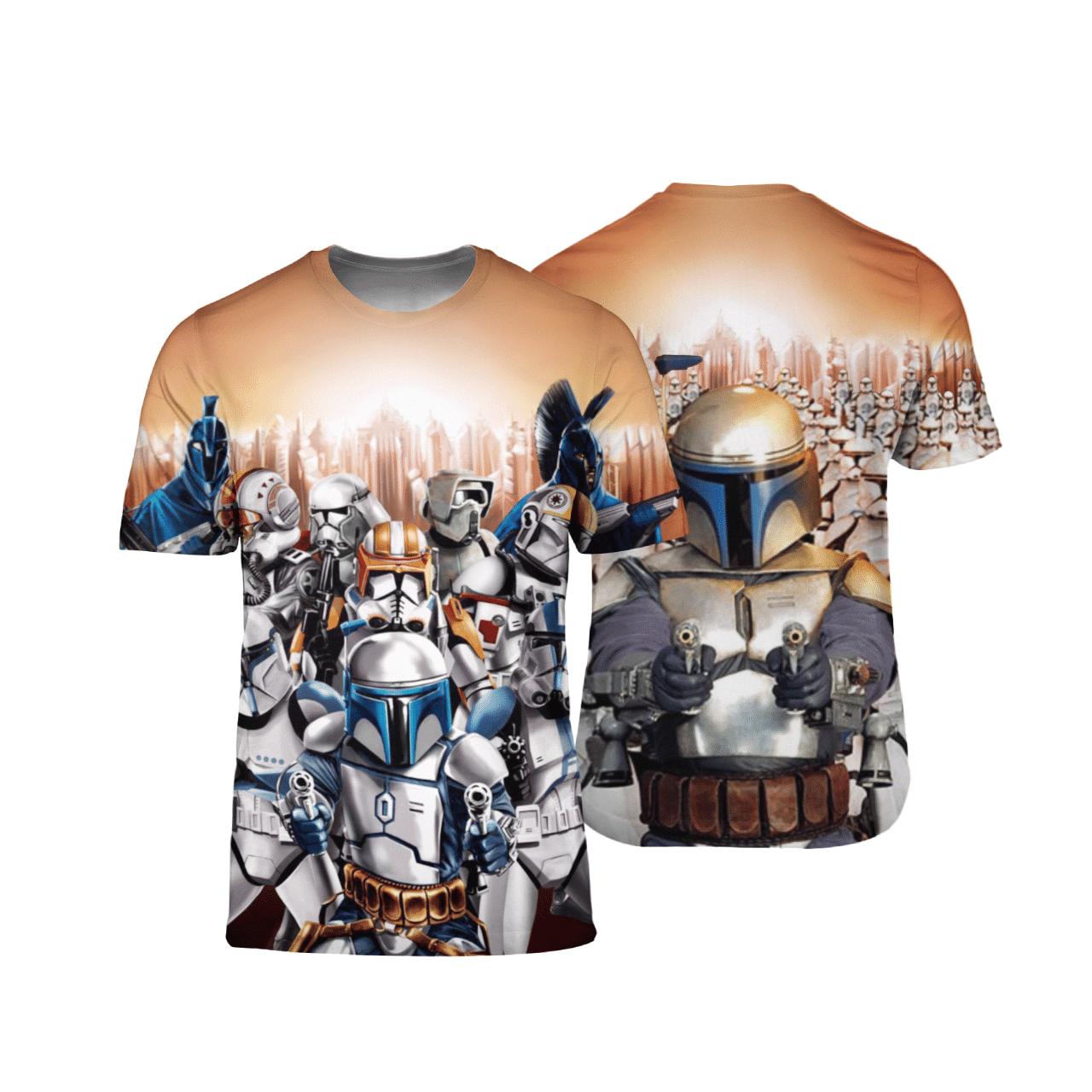 Stormtroopers Star Wars 3D T Shirt