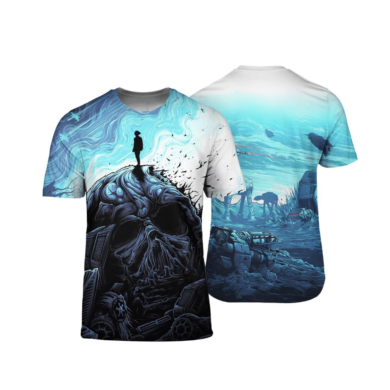Star Wars The Last Jedi 3D Shirt