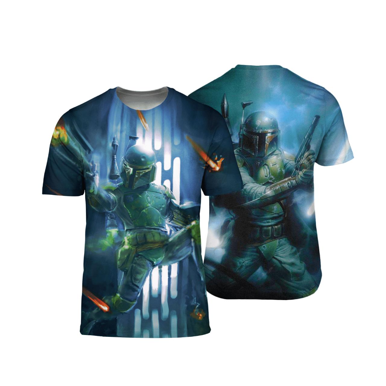 Star War Boba Fett 3D T Shirt