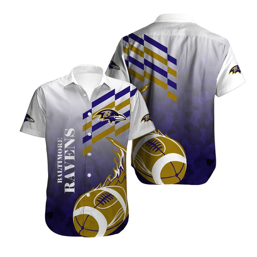Baltimore Ravens Limited Edition Yellow Balls Hawaiian Shirt