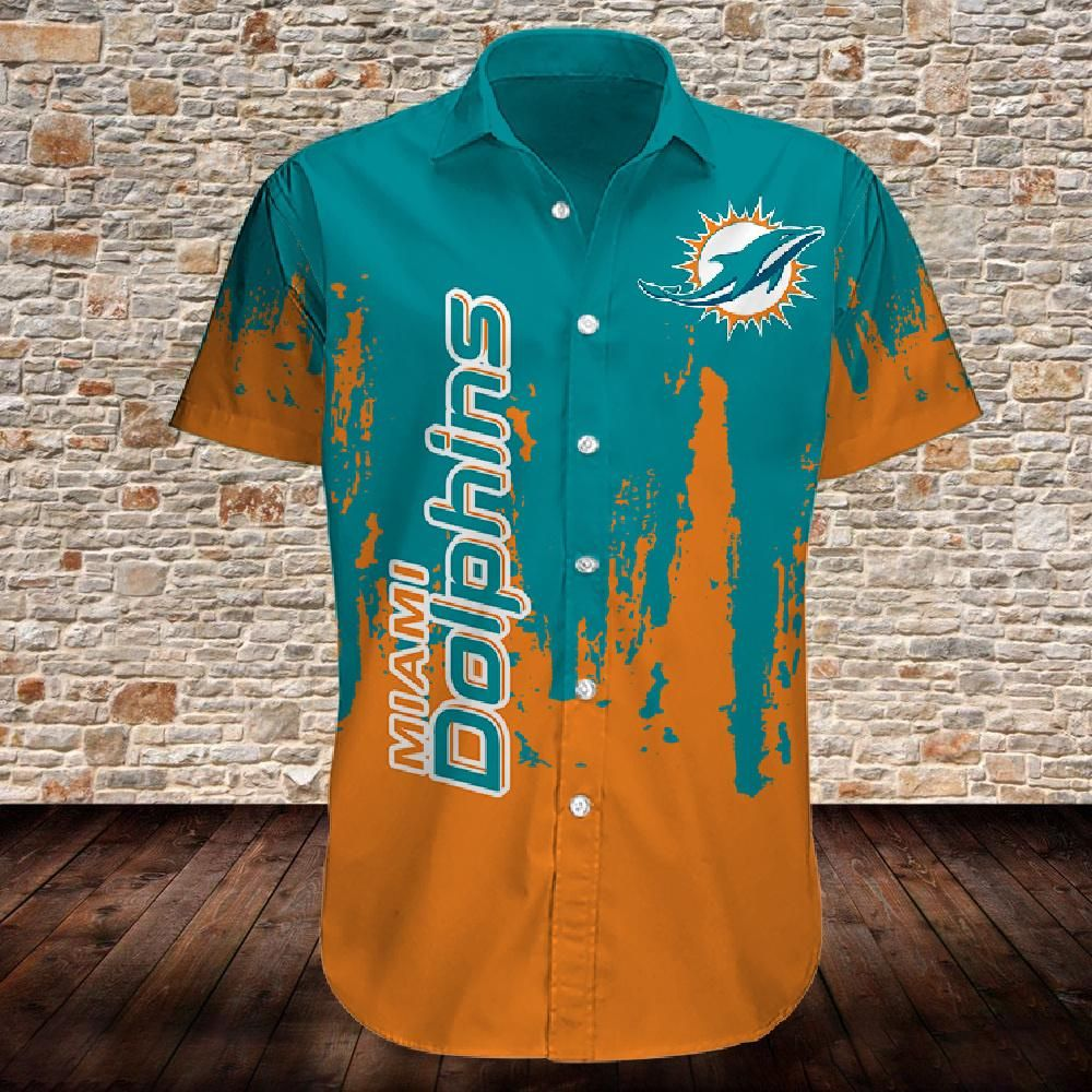 Miami Dolphins Limited Edition Hawaiian Shirt For Fans