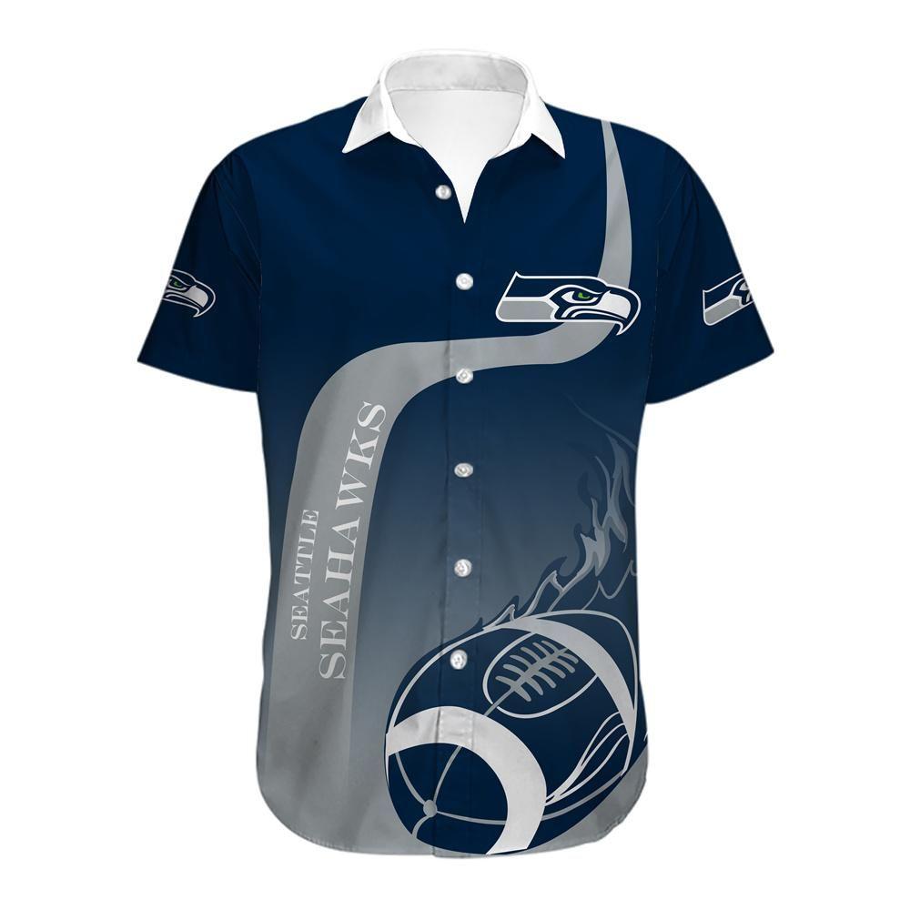 Seattle Seahawks Limited Edition Hawaiian Shirt Button Up Shirt