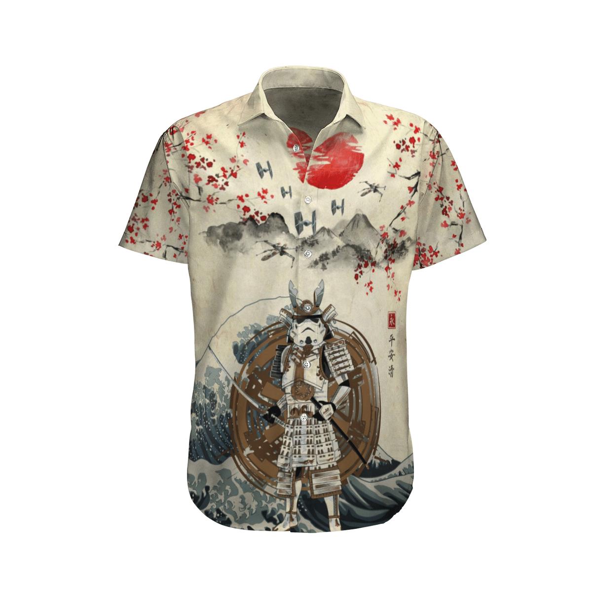 Star wars Japan Samurai Hawaiian shirt